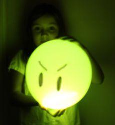 Globos para Halloween con Luz Led