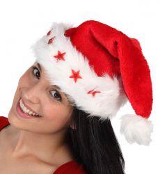 Gorro de Navidad con Luz Led