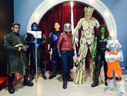 Show de Guardianes de la Galaxia