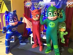 Show de Heroes en Pijamas