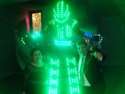 Show de Robot con Luces LED