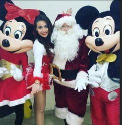 Santa Claus para entrega de regalo