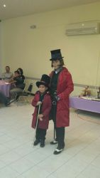 Show de Willy Wonka de Charlie y la fabrica de Chocolate