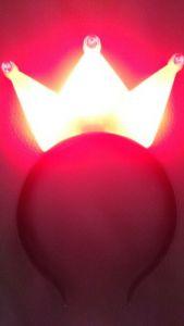 Diadema de Reina con Luz LED