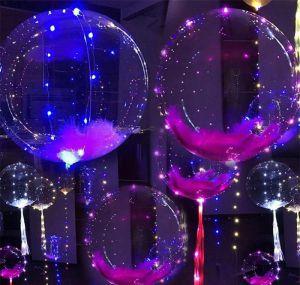 Globos Transparentes con Luz LED