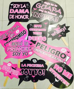 Letreros para Fiestas