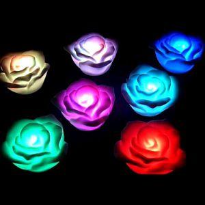 Rosa con Luz Led