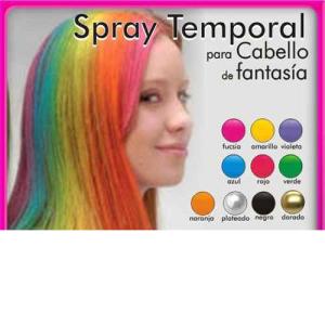 Spray de Colores para Cabello