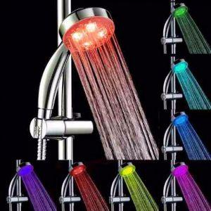 Regadera de Mano con Luces LED
