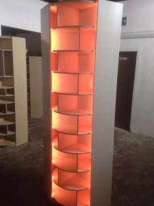 Zapatera Giratoria con Luces LED