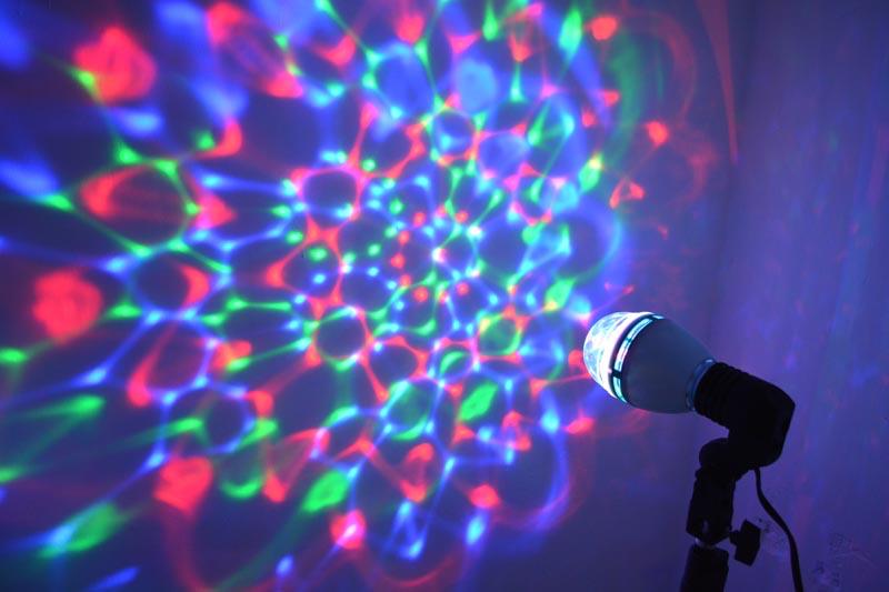 Foco con luz led giratorio - Focos led con luces de colores ...