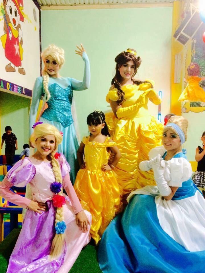 Show princesas de disney - Fiestas infantiles princesas disney ...